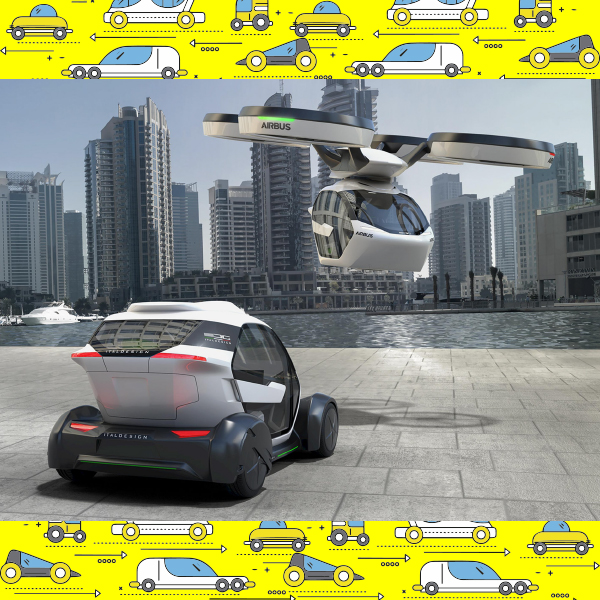 Plane, Train and Automobile: This Concept Car Transforms into All Three