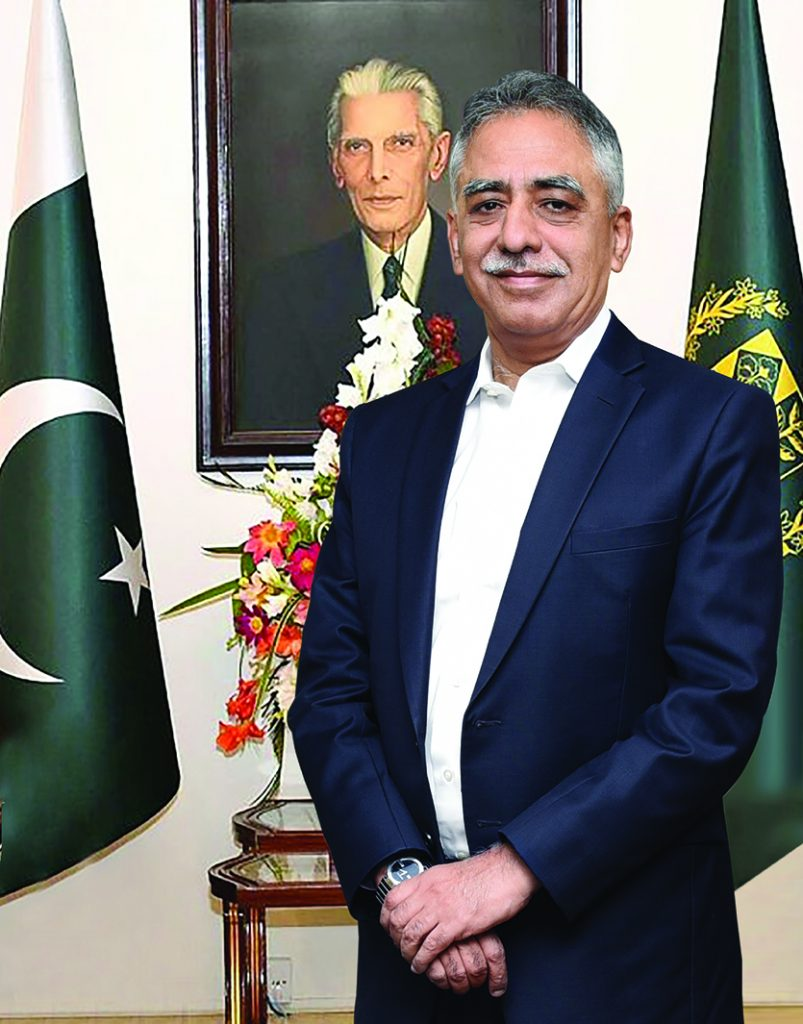 PAKISTAN'S MOST ADMIRED GOVERNOR